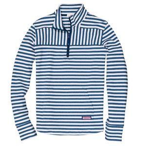 Vineyard Vines NWT Relaxed Stripe Shep Shirt Blue
